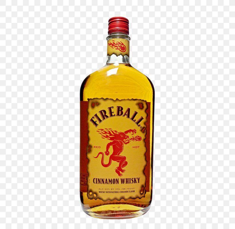 Fireball Cinnamon Whisky Liquor Whiskey Liqueur Canadian Whisky Schnapps Fireball Whiskey Fireball Bottle