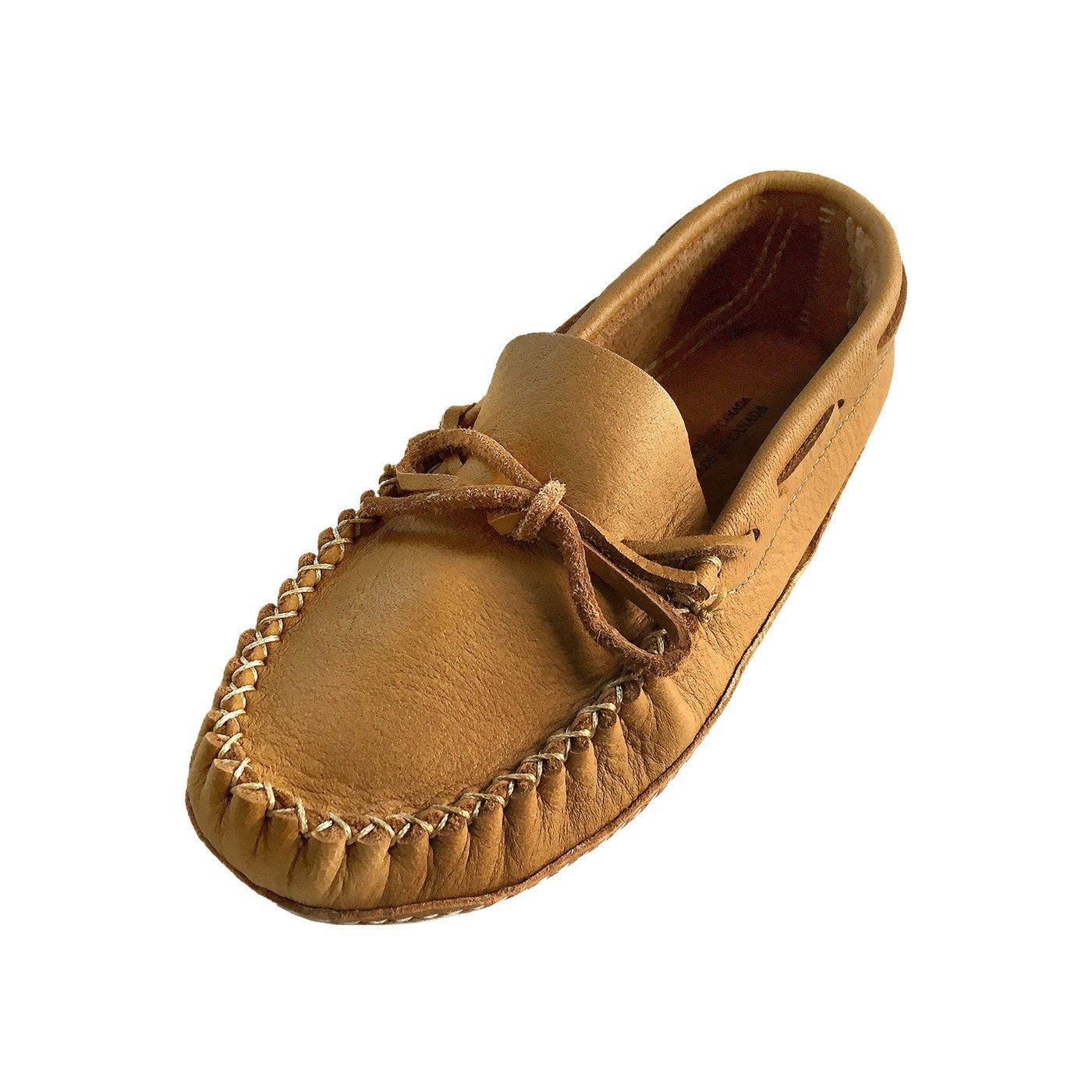 Women's Soft Sole Wide OR Medium Width Leather Moccasins
