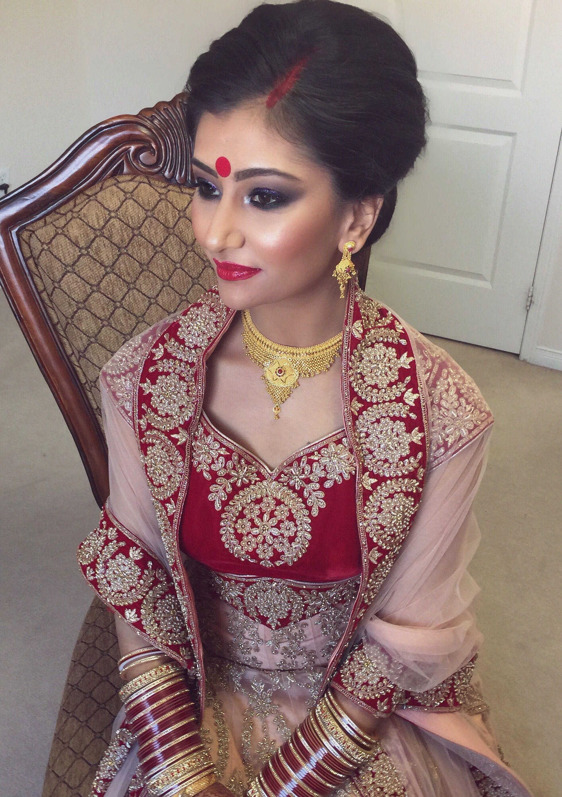 Hair Makeup Www Ravbbeauty Com Makeup Indian Bridal Makeup Indian Bridal Hair Hair Style Indian Bridal Makeup Indian Bridal Hairstyles Bridal Makeup
