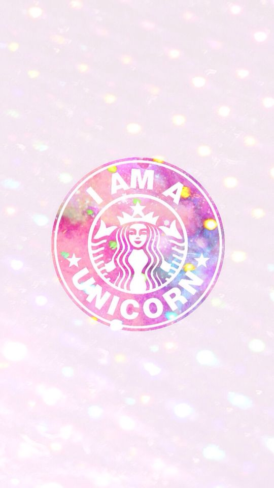 Pin By Val On Wallpapers And More Starbucks Wallpaper Iphone Wallpaper Glitter Unicorn Wallpaper Unicorn wallpaper iphone starbucks