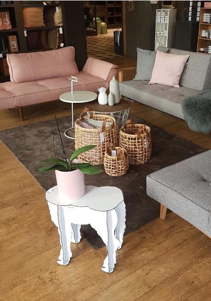 Scotty Lamb Stool By Ibride. #design #interior #decoration #ibride #animal
