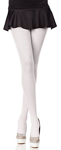 55df50d81f9 Merry Style Womens Opaque Tights Microfiber Hiver 40 DEN White Medium   Be  sure to check out this awesome product.(This is an Amazon affiliate link  and I ...