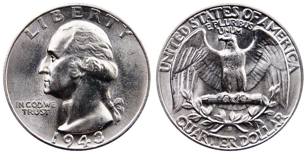 Washington Quarters Silver Composition