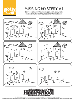 a printable worksheet to help kids with dyslexia or adhd train filling in the missing parts of. Black Bedroom Furniture Sets. Home Design Ideas