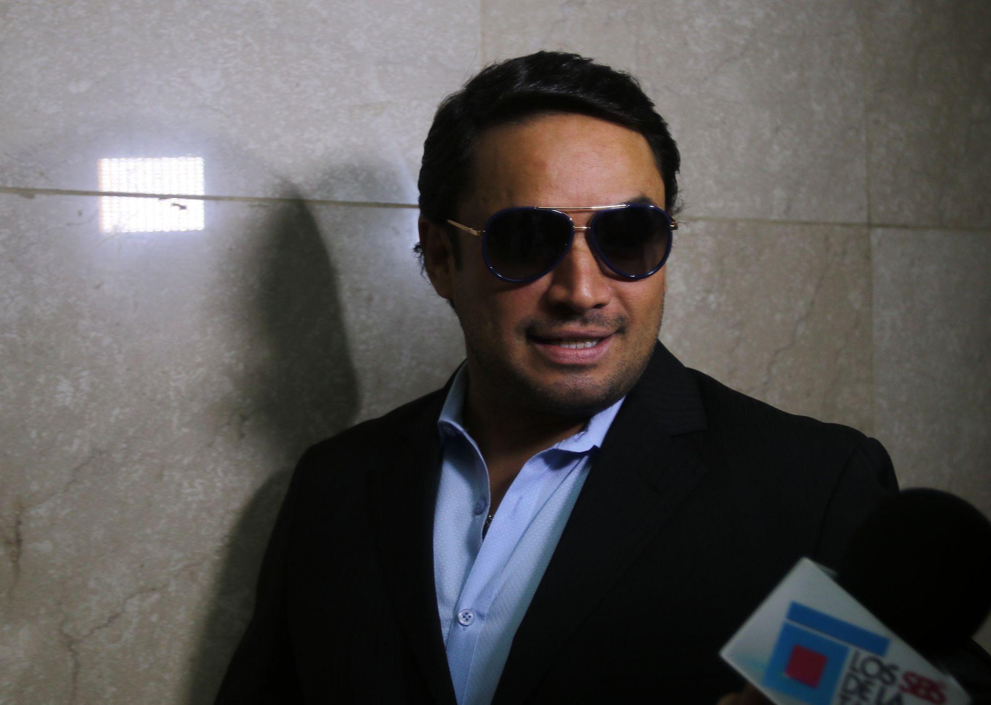 El merenguero fue arrestado el 5 de septiembre después de que impactara una patrulla de la Policía.