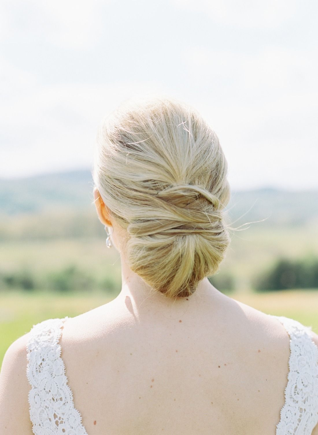 Coiffure Mariage Simple Et Chic Preppy Spring Charlottesville Wedding Coiffure