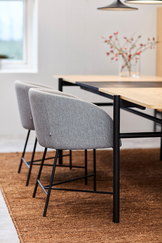 Einzigartiger Armlehnstuhl des Herstellers Interstil in Grau