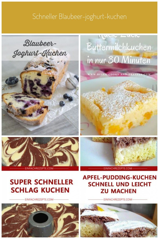 Schneller Blaubeer Joghurt Kuchen In 2020 Joghurt Kuchen Kuchen Lebensmittel Essen