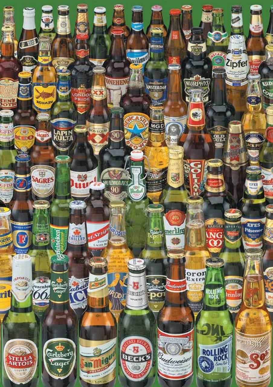 Beers 1000pc Jigsaw Puzzle By Educa Beer Beer Bottle Bottle
