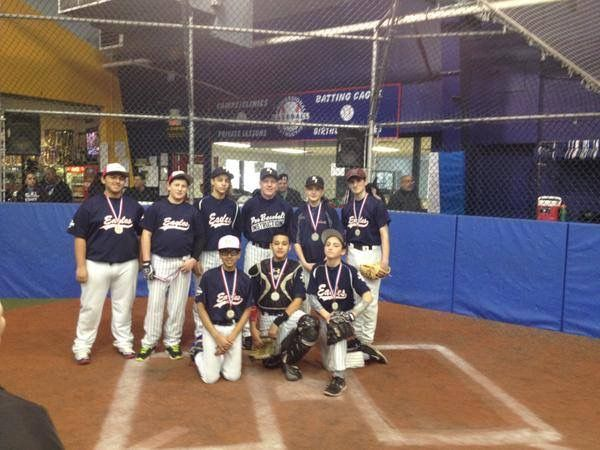 Pbi League Indoor Season 13 14u Division Runner Ups January 2015 Baseball League Club Baseball League