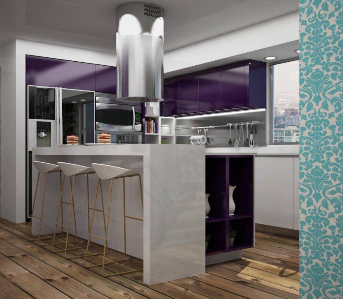 Cocinas Modernas de Citlali Villarreal Interiorismo & Diseño ...