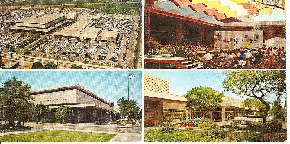 Santa Ana Fashion Square With Bullock S I Magnin 1960 S Ca History Santa Ana Orange County California