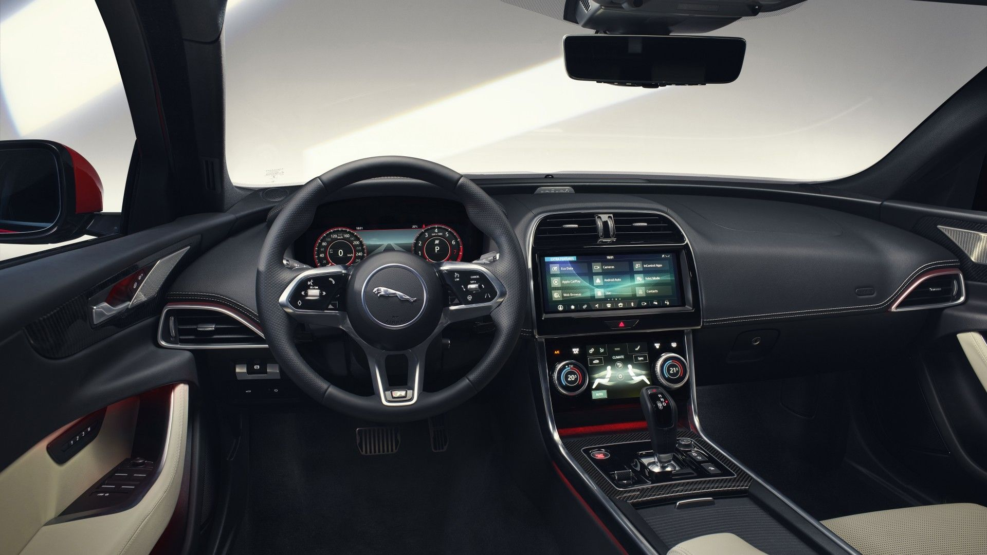Jaguar Xe R Dynamic 2019 5k Interior Wallpaper Jaguar Xe New Jaguar Jaguar