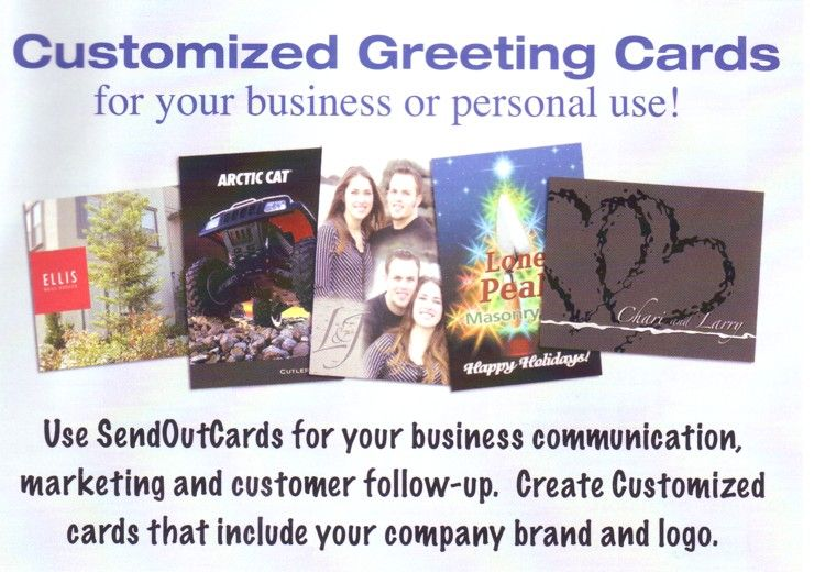 Custom birthday card personalized birthday card personalized customized greeting cards for your business or personal use use sendoutcards for your business communication marketing m4hsunfo
