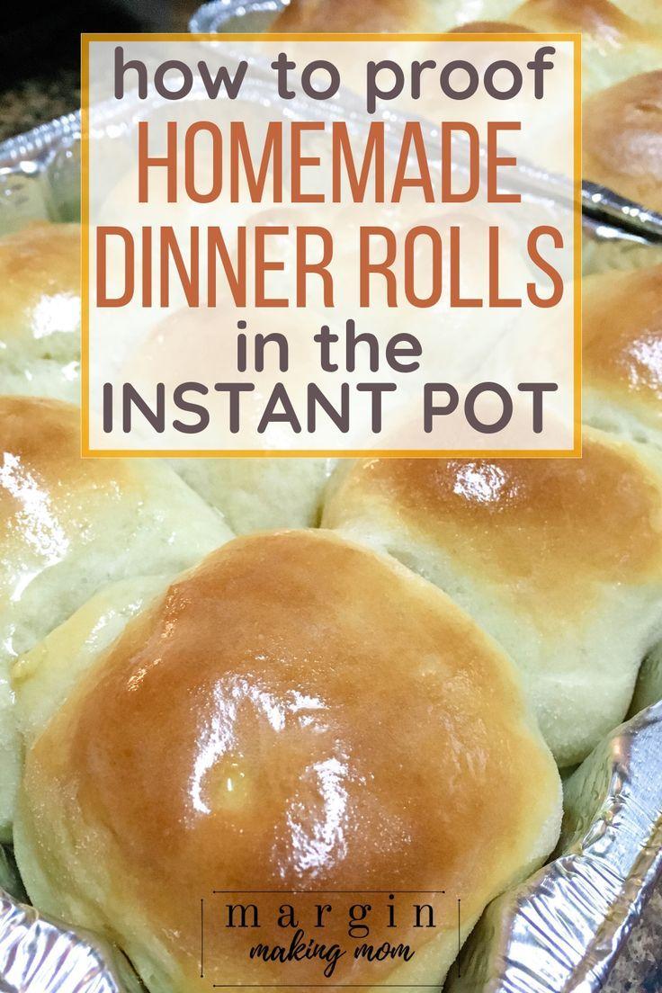 Photo of How to Make Homemade Instant Pot Dinner Rolls – Margin Making Mom