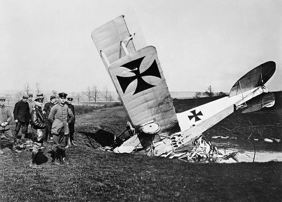 Ww1 Plane Crash Photos Ww1 Planes Fighter Planes World War
