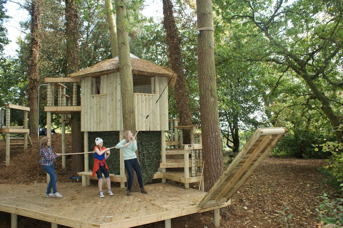Draw Bridge Adventure By Treehouse Life Our Treehouses