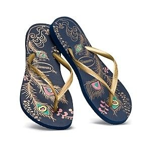 f005a6818 peacock feathers havaianas