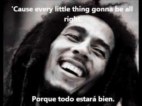 Bob Marley Three Little Bird Subtitulado Español E Ingles Youtube Musica Romantica Musica Del Recuerdo Musica Variada
