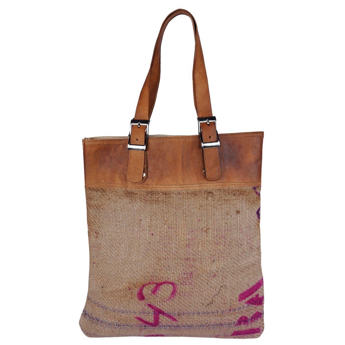 Bag or Tote Karma Living cotton hand crafted environmentally friendly Boho bag