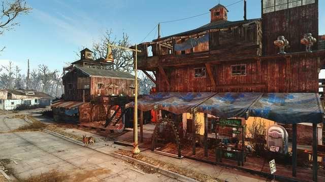 Sanctuary Hills Version 2 Fallout Art Fallout Settlement Sanctuary