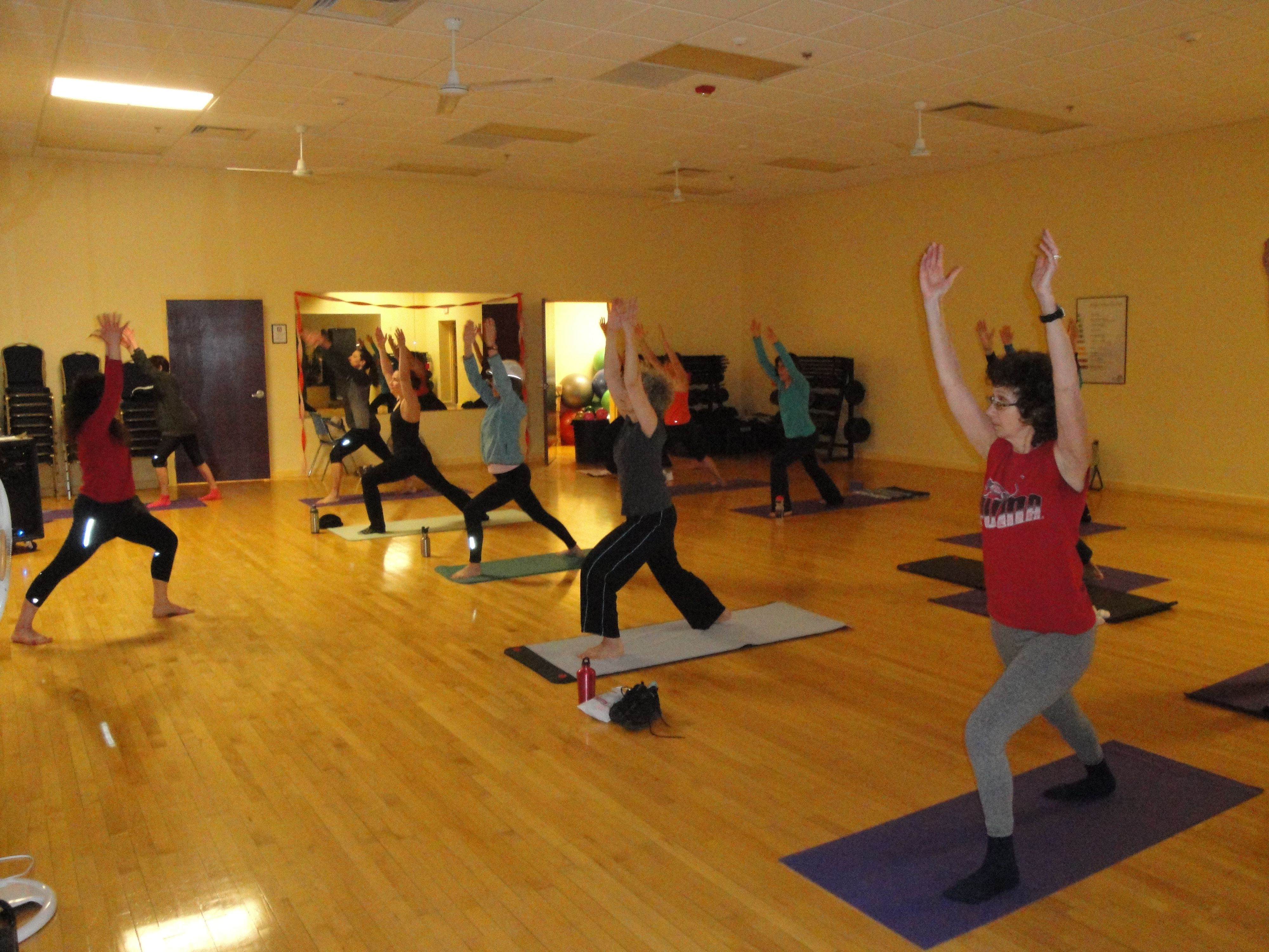 Fit Fusion Visana Yoga Class at the Benderson Family Building!