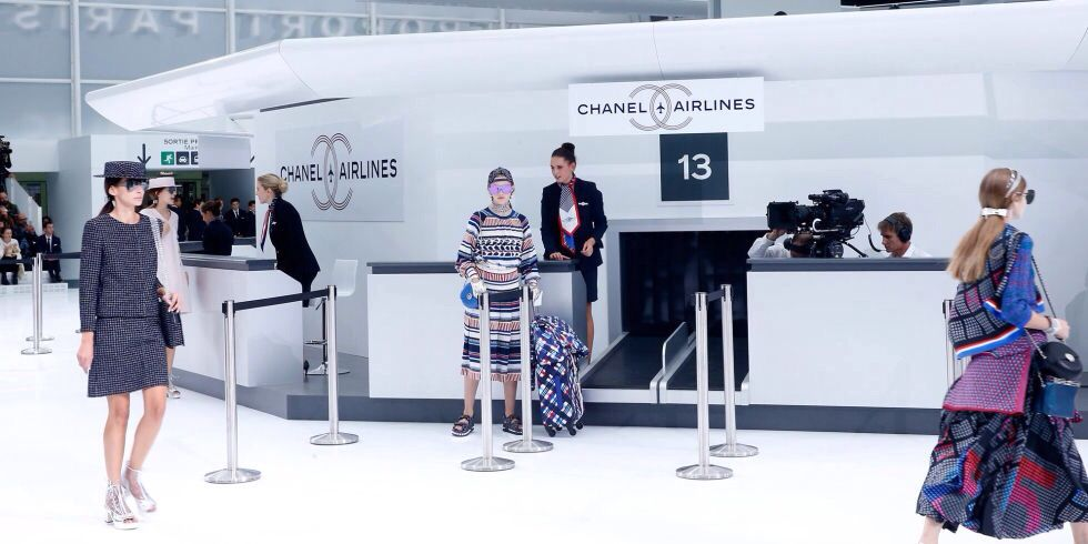 Chanel Airlines Spring/Summer 2016