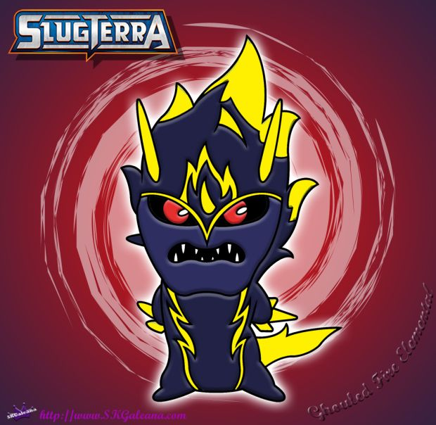 Ghoul Fire Elemental Coloring Page from Slugterra: Return ...