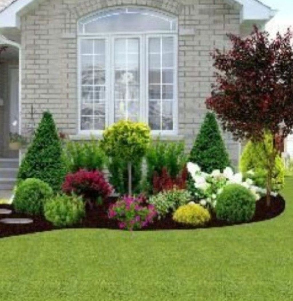 42 Amazing Grass Landscaping For Home Yard