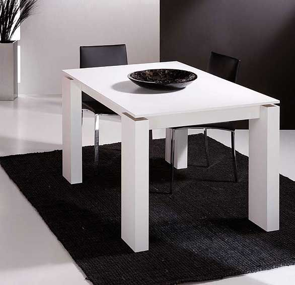 Muebles cosas de arquitectos mesa comedor extensible lugo for Mesa extensible diseno