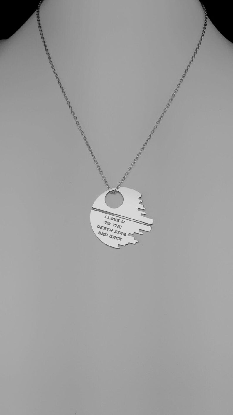 YaoX Best Sister Ever Quote Heart Necklaces Pendant Retro Moon Stars Jewelry