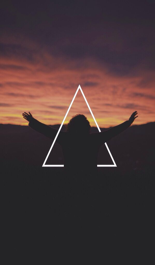 beautiful hipster triangle iphone | ️wallpapers ️ | Pinterest | Hipster wallpaper, Iphone ...