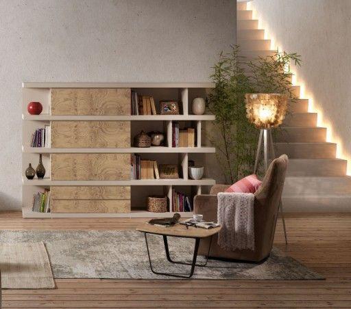 Consejos para una decoración de estilo natural. librería para el ...