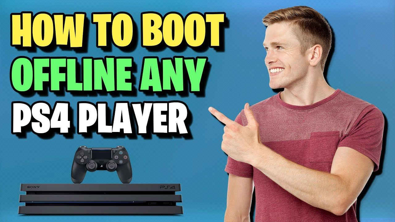 How To Boot Someone Offline On Ps4 Boot Any Playstation Player Offline With Phone In 2020 Psn Youtube Ps4 Offline Youtube