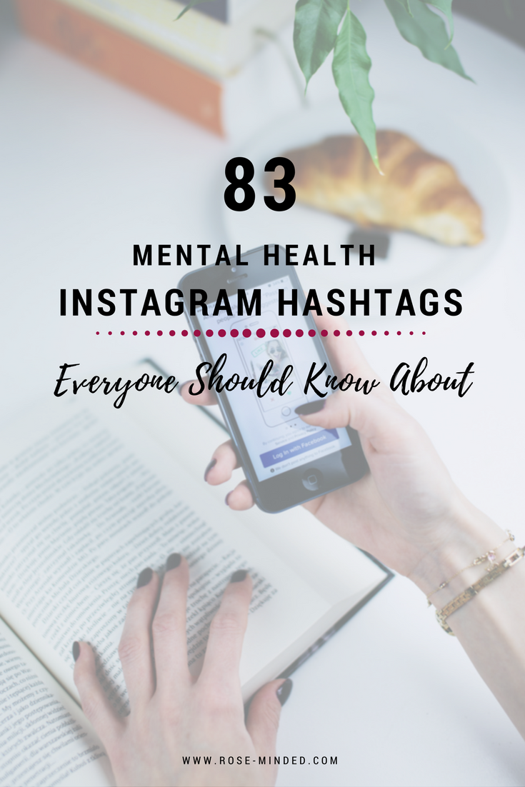 83 Mental Health Instagram Hashtags Everyone Should Know About ...