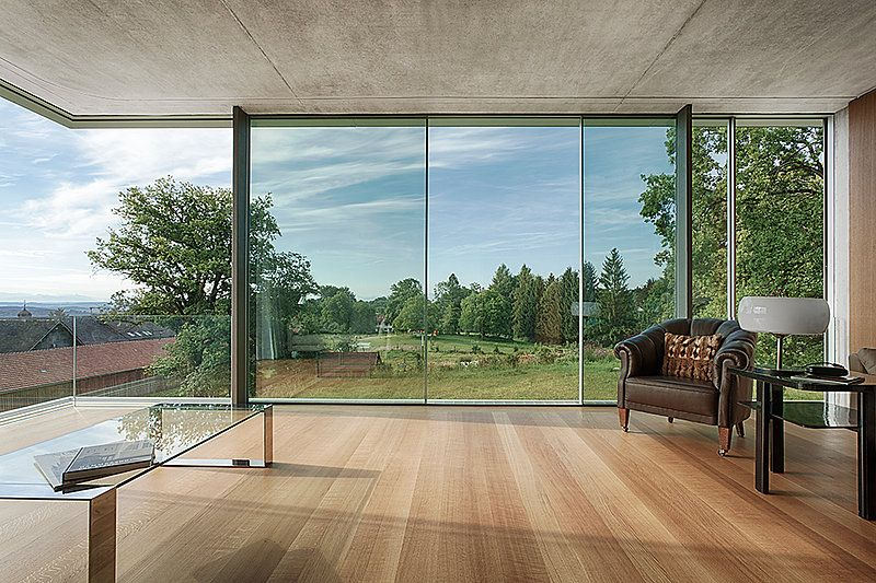 Sky Frame Fenster alco glass sky frame sliding doors glazed glass