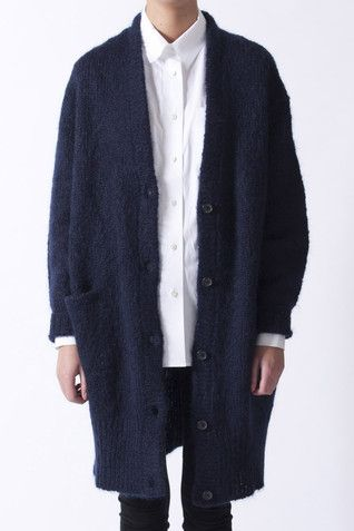 Obessed with Acne mohair cardigsns