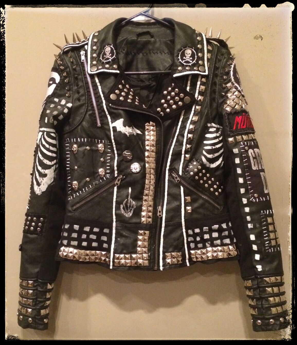 Custom rocker jackets by Chad Cherry Clothing. | Chad ...