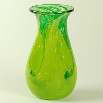 Neon Yellow Green Vase Modern Glamour Wedding Neons Pinterest