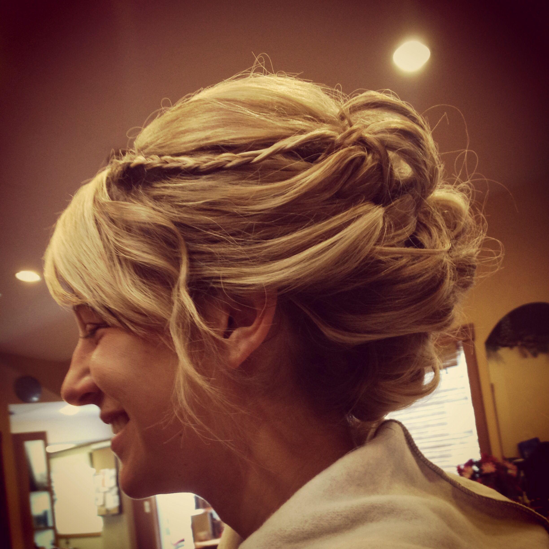 Bridesmaid hair wedding hair pinterest hair us and hairstyles