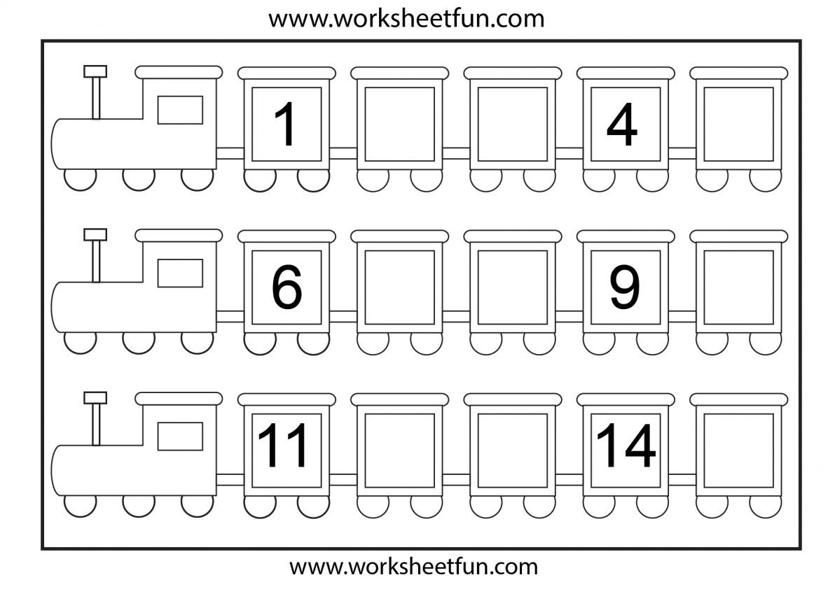 10 Preschool 1 To 15 Worksheet