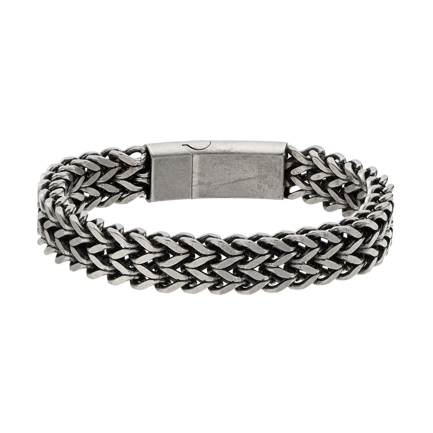 1913 Men S Stainless Steel Woven Bracelet Stainless Men Bracelet Woven Woven Bracelets Bracelets Mens Jewelry