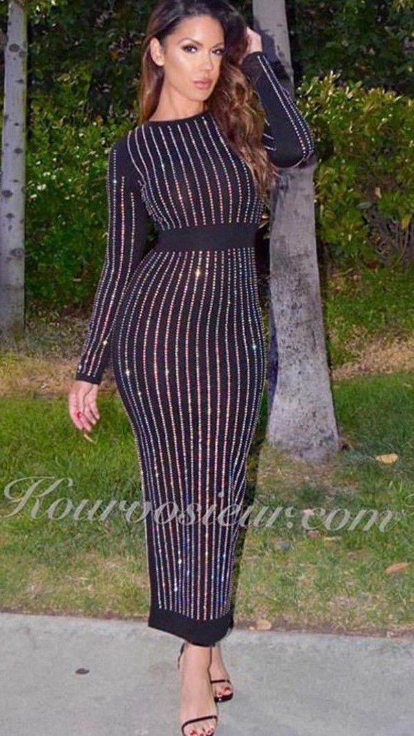 Long sleeve midi dresses uk party