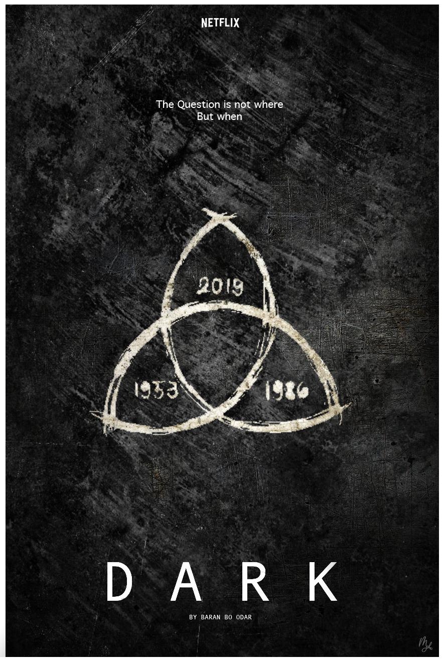 Dark Netflix Poster 1 By Mjdesign15 On Deviantart In 2020 Dark Wallpaper Iphone Netflix Dark Pictures