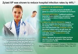 Hospital Infection Rates Reduced By 44 See More At Zylastdirect