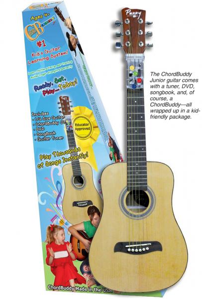 Chordbuddy Jr Kids Guitar Review Kids Guitars And Guitars