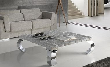 Mesas Mediterráneas con colores nórdicos de diseño autodidacta http://www.casanova-gandia.com/estancias/muebles-de-salon.aspx