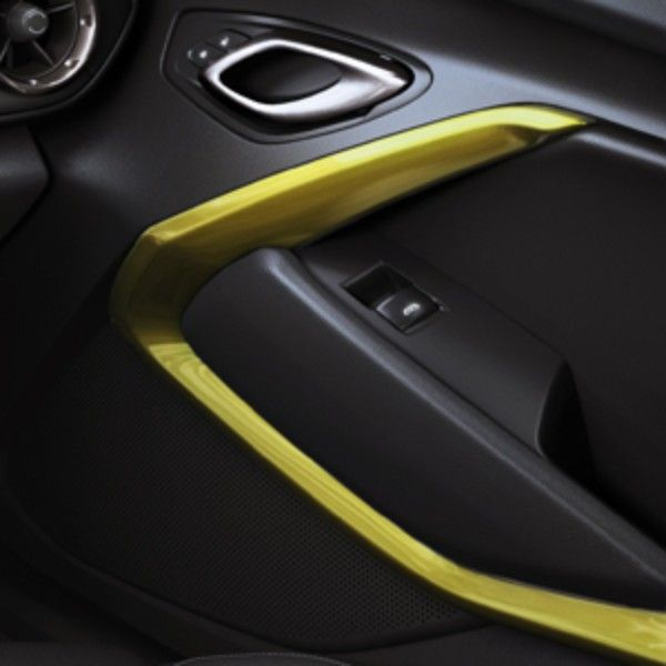 2016 Camaro Interior Door Trim Kit Lemon L A Two Piece Complements Or Contrasts Your S Exterior Color For Completely