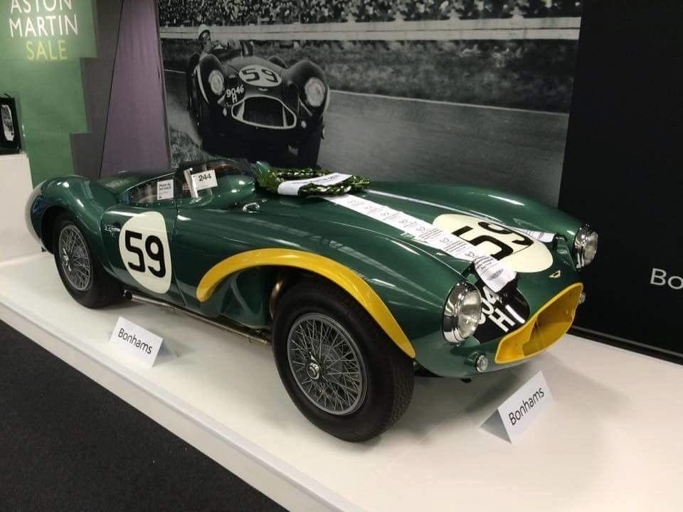 1953 Aston Martin Db3s Bellini Db3s5 Aston Martin Works Race