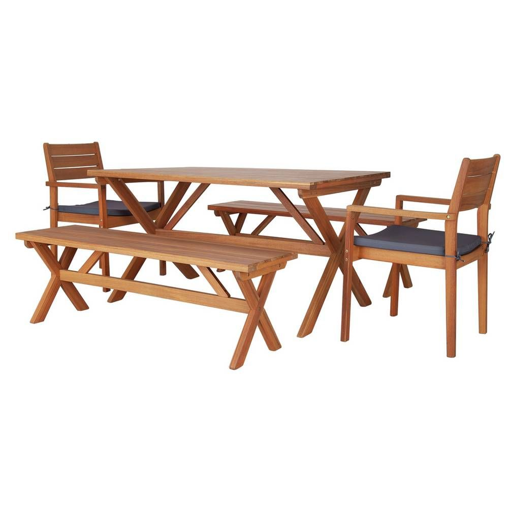 Argos Wooden Garden Table And Chairs